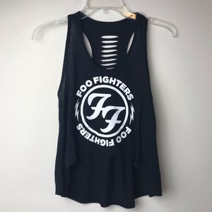 Foo Fighters High-Low Live Nation Band Merch Tank